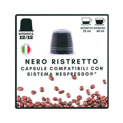 Nero Ristretto kapsule kafe kompatibilne sa Nespresso