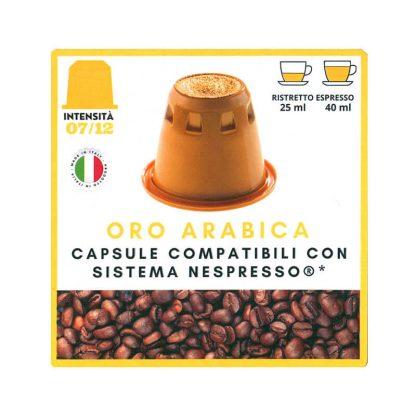 Oro Arabica kapsule kafe kompatibilne Nespresso