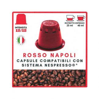 Rosso Napoli kapsule kafe kompatibilne sa Nespresso