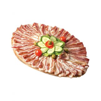 Suva crnogorska panceta u listu vakuum Martex