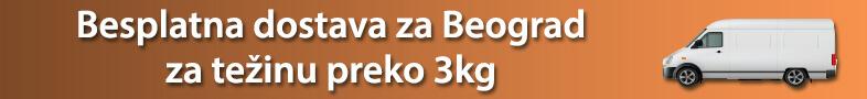 Za porudžbine preko 3 kg, besplatna dostava na teritoriji grada Beograda