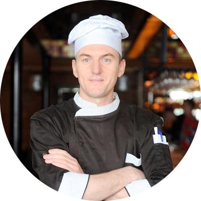Bojan Životić, šef kuhinje restorana Lavash