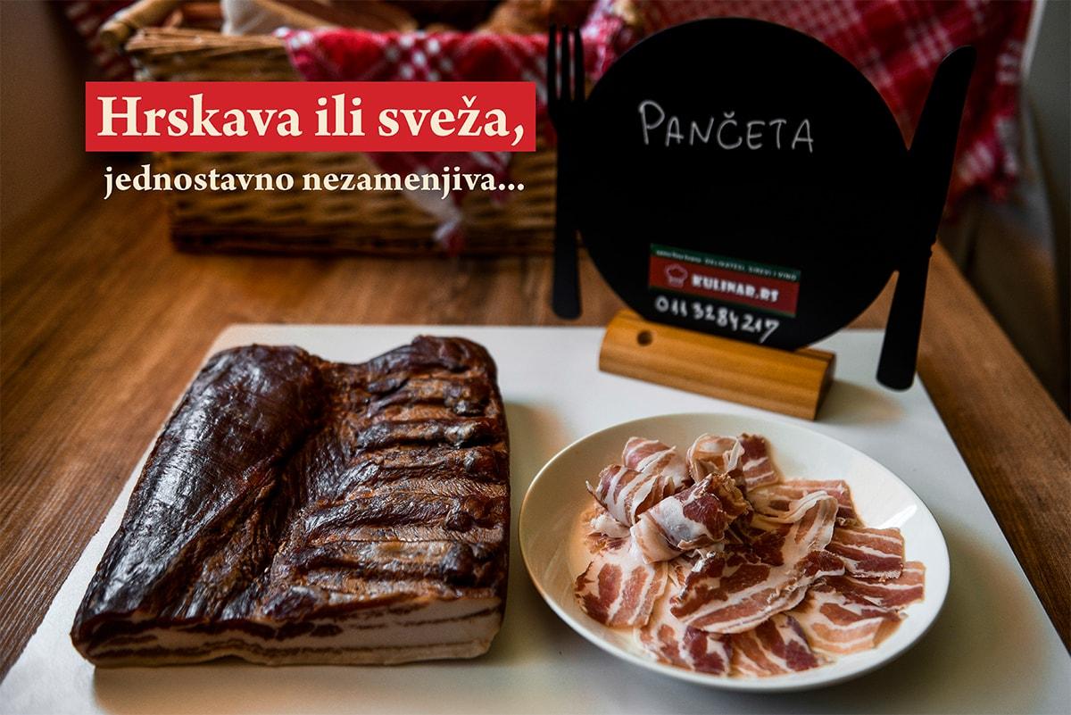 Suva crnogorska pančeta - hrskava ili sveža
